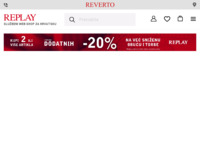 Frontpage screenshot for site: Replay Hrvatska (http://www.reverto.hr)