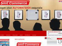 Frontpage screenshot for site: Smit Commerce (http://www.smit-commerce.hr)