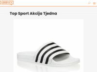 Slika naslovnice sjedišta: TopSport sportska oprema (http://www.top-sport.hr/)