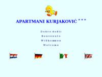 Frontpage screenshot for site: Apartmani Kurjaković (http://free-ri.htnet.hr/apartmani_punat/)