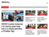Frontpage screenshot for site: klikni.hr (http://www.klikni.hr)
