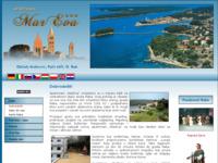 Frontpage screenshot for site: MarEva- Apartmani Matković, Palit, Otok Rab (http://www.mareva.biz)