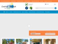 Frontpage screenshot for site: (http://www.kamp-glavotok.hr/)