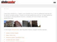 Frontpage screenshot for site: Skela Centar d.o.o. (http://www.skela-centar.hr)