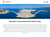 Frontpage screenshot for site: Nekretnine Liburnija (http://www.liburnia.eu/)