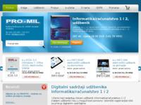 Slika naslovnice sjedišta: Izdavaštvo i informatika Pro-mil (http://www.pro-mil.hr/)