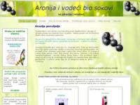 Slika naslovnice sjedišta: Sok od Aronije (http://www.aronija.putokaz.biz)