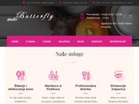 Slika naslovnice sjedišta: Studio Butterfly - mjesto Vaše ljepote... (http://www.studio-butterfly.net)
