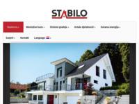 Frontpage screenshot for site: Montažne kuće (http://www.stabilokuce.hr/)
