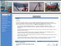 Frontpage screenshot for site: Najam dizalica (http://www.dizalice.putokaz.biz)