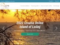 Frontpage screenshot for site: Putnička agencija Zlatni trag - Mali Lošinj (http://www.zlatnitrag.hr)
