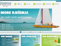 Slika naslovnice sjedišta: OceanusWeb - Web rješenja za vaše poslovanje (http://www.oceanusweb.com)