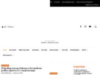 Frontpage screenshot for site: Novosti d.o.o. (http://www.novosti.hr)