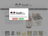 Slika naslovnice sjedišta: Kaiser-prom Distribucija i veleprodaja pića (http://kaiser-prom.hr/)