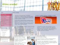 Frontpage screenshot for site: Klima uređaji (http://www.klima.jeftinije.biz)