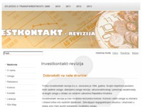 Slika naslovnice sjedišta: Investkontakt-revizija (http://www.investkontakt-revizija.hr)