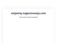 Frontpage screenshot for site: Smještaj na moru u Hrvatskoj (http://smjestaj.najputovanja.com)
