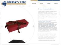 Slika naslovnice sjedišta: Tiskara Kreativni tisak (http://www.kreativni-tisak.hr)