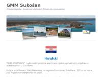 Slika naslovnice sjedišta: GMM apartmani Sukošan, Dalmacija, Hrvatska (http://www.gmm-sukosan.com)