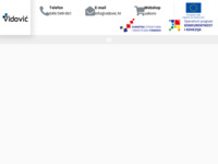 Frontpage screenshot for site: Vidovic.hr (http://www.vidovic.hr)