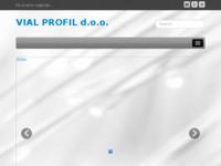 Frontpage screenshot for site: Vial Profil d.o.o.za metalnu proizvodnju i usluge (http://www.vial-profil.hr)