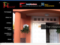 Frontpage screenshot for site: The House Hostel (http://www.thehousehostel.com)