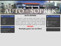 Slika naslovnice sjedišta: Auto-Šoprek (http://www.auto-soprek.hr)
