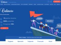 Frontpage screenshot for site: Calimero jezici zadar - škola stranih jezika zadar (http://www.calimerojezici.hr/)