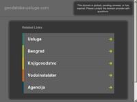Slika naslovnice sjedišta: Geodetske usluge (http://www.geodetske-usluge.com)