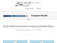 Slika naslovnice sjedišta: Plovila Mlakar (http://www.autoprijevoznicki-obrt-mlakar.hr/)