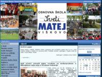 Slika naslovnice sjedišta: Osnovna škola (http://www.ossvetimatej.hr)