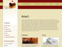 Slika naslovnice sjedišta: Kolači (http://www.kolaci.me)