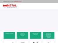 Frontpage screenshot for site: Metal plus d.o.o. - Pneumatika Bosch Rexroth (http://www.metal-plus.hr)
