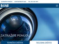 Slika naslovnice sjedišta: Bond zaštita d.o.o. (http://www.bond.hr/)
