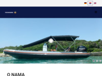 Frontpage screenshot for site: PhoenixMarine (http://www.phoenixmarine.hr)