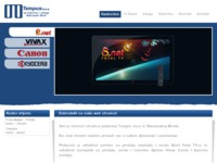 Frontpage screenshot for site: (http://www.tempus-sb.hr)