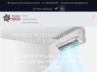Slika naslovnice sjedišta: Tehno Servis Osijek (http://www.tehnoservis-klime.hr)