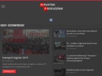 Slika naslovnice sjedišta: Hrvatski prijevoznik - prijevoznički portal (http://www.hrvatskiprijevoznik.hr)