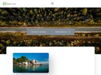 Frontpage screenshot for site: Atlantis Travel (http://www.atlantis-travel.eu)