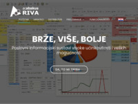 Frontpage screenshot for site: RIVA mini ERP - poslovni i knjigovodstveni program za male poduzetnike (http://www.ac-abakus.com)