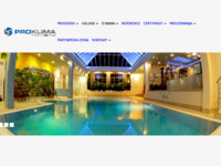 Slika naslovnice sjedišta: Pro klima d.o.o. (http://www.proklima.hr)