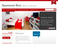 Frontpage screenshot for site: Apartman Bery - kratkotrajni najam za studijski, turisticki, konferencijski boravak (http://apartment-bery.hr)