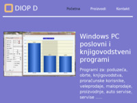 Frontpage screenshot for site: DIOP D (http://www.diopd-mestrovic.hr)