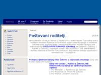 Frontpage screenshot for site: Dječji vrtić Čakovec (http://www.dvck.hr)