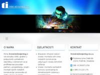 Frontpage screenshot for site: Trend inženjering d.o.o. Zadar (http://www.trend-ing.hr)