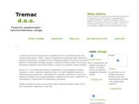 Slika naslovnice sjedišta: Tremac d.o.o. (http://www.tremac.hr)