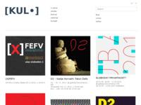 Frontpage screenshot for site: Kulturno-umjetnički laboratorij [KUL•] (http://k-u-l.hr)