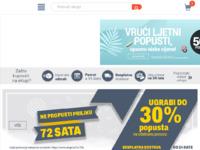 Frontpage screenshot for site: eKupi.hr - Vaša Internet trgovina (http://www.ekupi.hr)