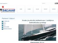 Frontpage screenshot for site: Omegamar d.o.o. - Servisne usluge u nautičkom turizmu (http://www.omegamar.hr)