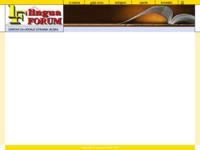 Frontpage screenshot for site: Lingua Forum (http://www.linguaforum.hr)